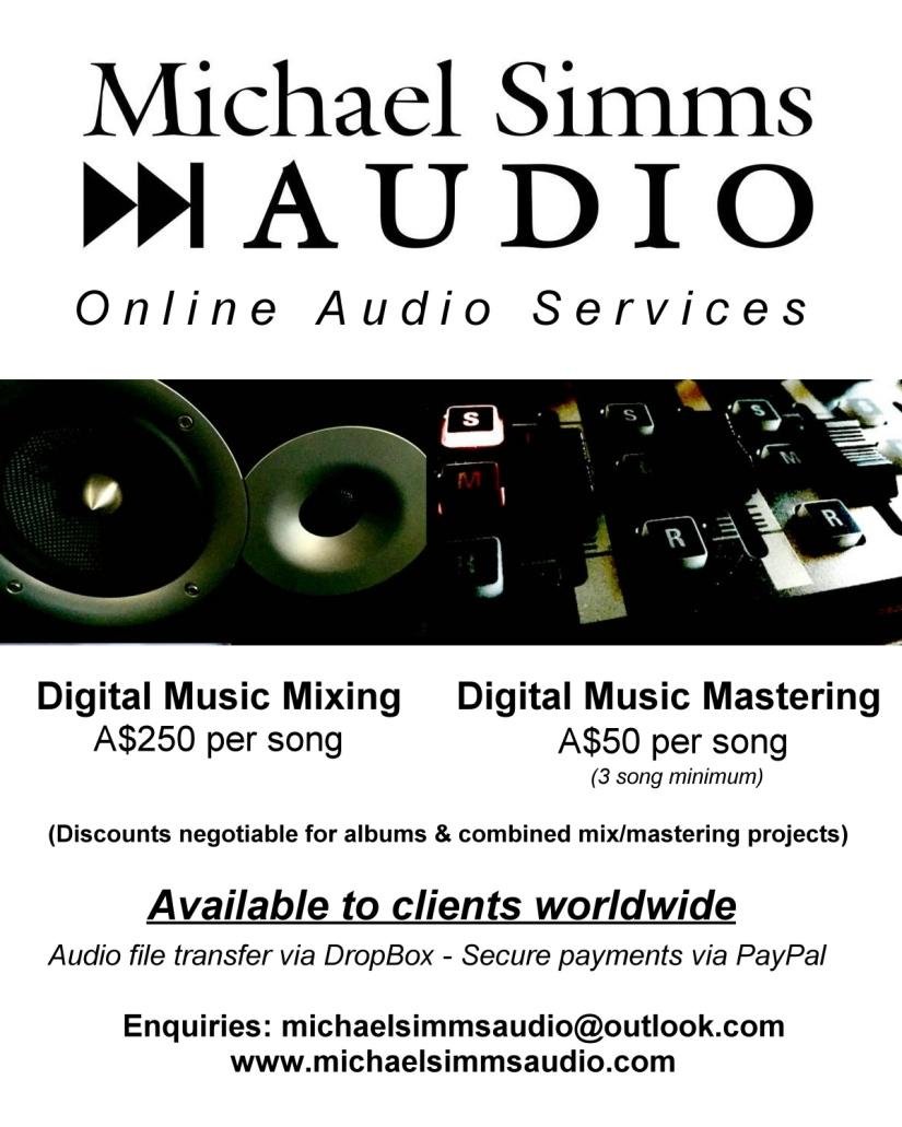 Online Mixing & Mastering – Michael Simms Audio